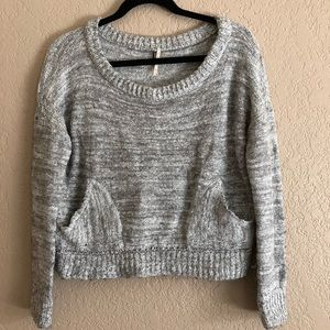 Free People Cropped Sweater Small